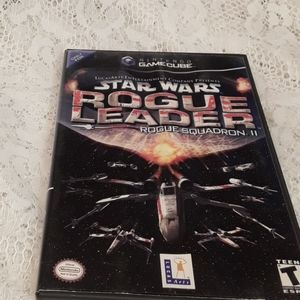 Nintendo Gamecube Star Wars Rogue Leader Video Gam